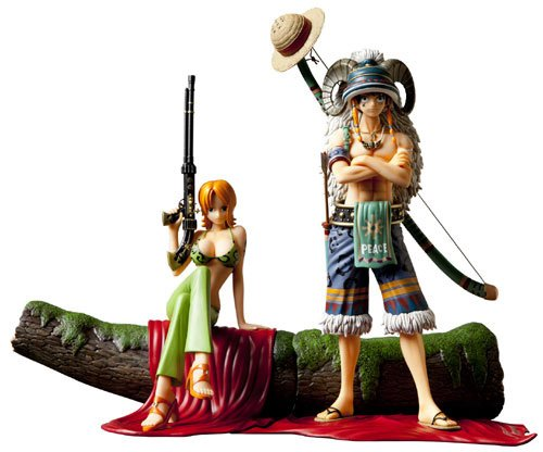 Image 8 for One Piece - Monkey D. Luffy - Door Painting Collection Figure - 1/7 - Animal ver. (Plex)
