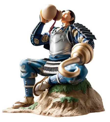 Image 7 for One Piece - Sir Crocodile - Door Painting Collection Figure - 1/7 - Samurai ver. (Plex)