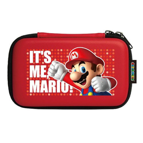 Image 2 for Super Mario Hard Pouch 3DS (Red) [Mario Up Version]