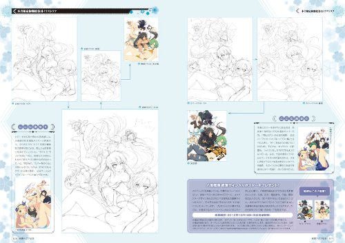 Image 8 for Senran Kagura Burst Crimson Girls Perfect Bible + Illustration Book Burst / 3 Ds