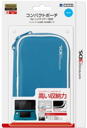 Image 1 for Compact Pouch 3DS (Blue)
