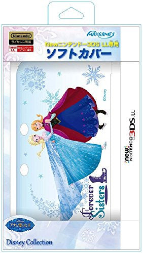 Image 1 for Soft Cover for New Nintendo 3DS LL (Anna & Elsa)