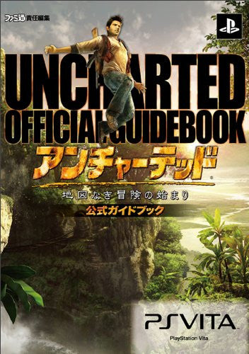 Image 1 for Uncharted: Golden Abyss Official Guide Book