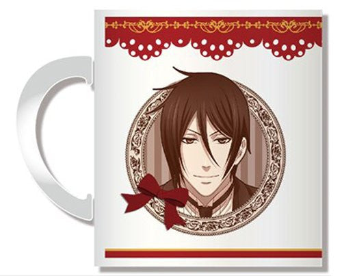 Image 2 for Kuroshitsuji ~Book of Circus~ - Ciel Phantomhive - Sebastian Michaelis - Mug A (Penguin Parade)