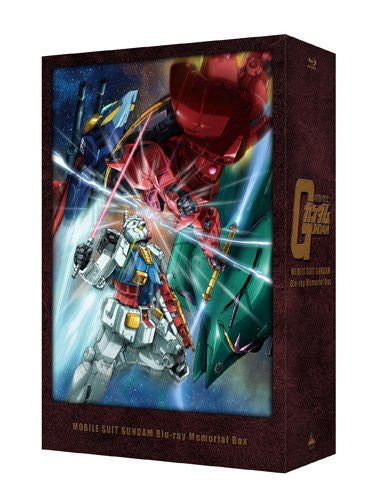 Image 3 for Mobile Suit Gundam Blu-ray Memorial Box [Limited Edition]