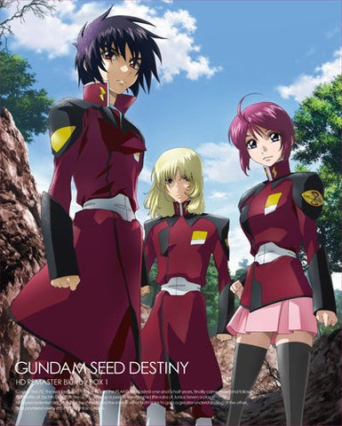 Image for Mobile Suit Gundam Seed Destiny Hd Remaster Blu-ray Box Vol.1 [Limited Edition]
