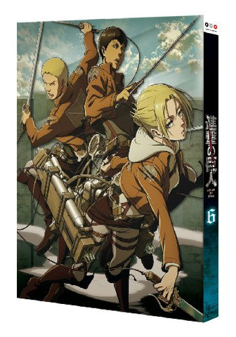 Shingeki no Kyojin 6 [Blu-ray+Visual Novel Limited Edition]