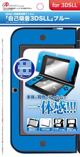Image 1 for Console Protection Film for 3DS LL (Blue)