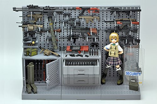 Image 4 for Little Armory LD006 - Gun Rack B - 1/12 (Tomytec)