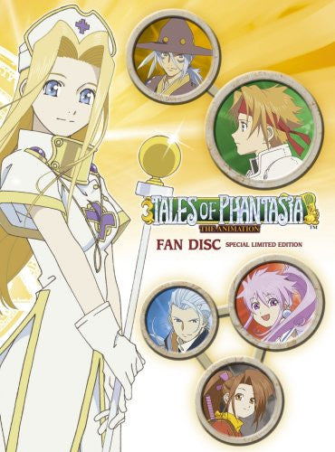 Image 1 for OVA Tales of Phantasia The Animation Fan Disc [Limited Edition]