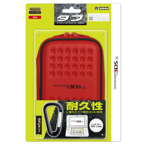Image 1 for Tough Pouch for 3DS LL (Red)