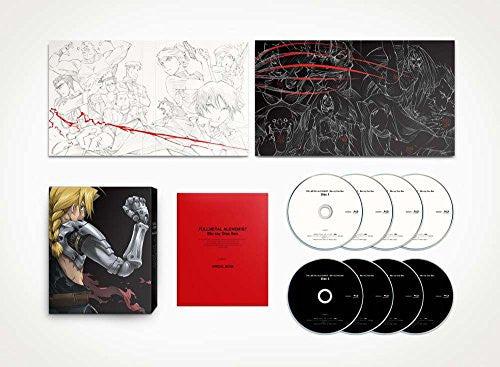Image 1 for Fullmetal Alchemist Blu-Ray Disc Box [Limited Edition]