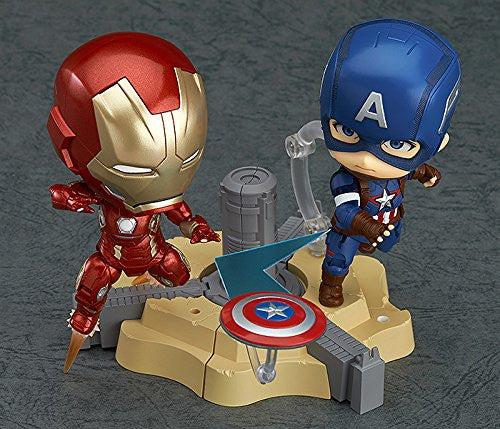 Image 2 for Avengers: Age of Ultron - Captain America - Nendoroid #618 - Hero's Edition (Good Smile Company)