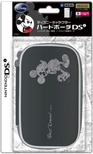 Image 1 for Disney Character Hard Pouch DSi (Mickey Black)