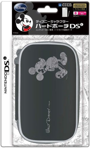 Image for Disney Character Hard Pouch DSi (Mickey Black)