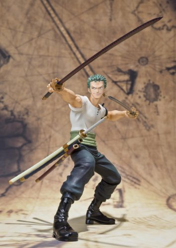 Image 11 for One Piece - Roronoa Zoro - Figuarts ZERO - Battle ver. (Bandai)