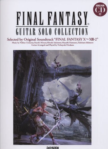 Image for Final Fantasy Guitar Solo Collection X~Xiii 2