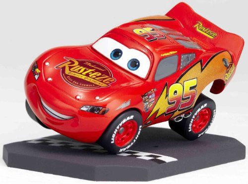 Image 9 for Cars - Lightning McQueen - Revoltech - Revoltech Pixar Figure Collection - 3 (Kaiyodo Pixar The Walt Disney Company)