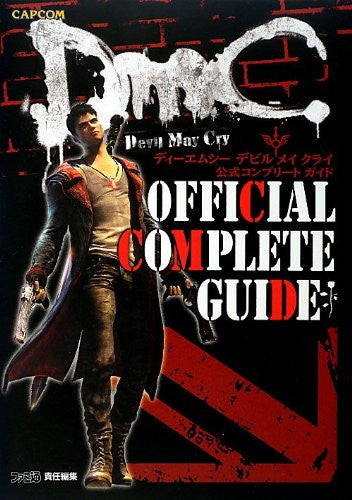 Image 1 for Dm C Devil May Cry Official Complete Guide Book / Ps3 / Xbox360