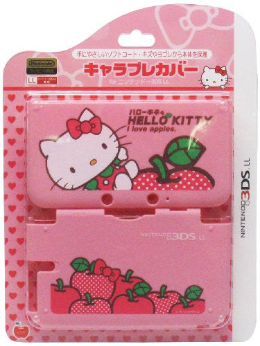 Image 1 for Chare Pure Cover for 3DS LL [Hello Kitty Pink]