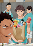 Thumbnail 2 for Haikyuu!! - Calendar - Wall Calendar - 2015 (Ensky)[Magazine]