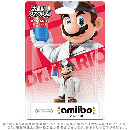 Image 3 for Dairantou Smash Bros. for Wii U - Mario - Amiibo - Amiibo Dairantou Smash Bros. Series - Doctor (Nintendo)