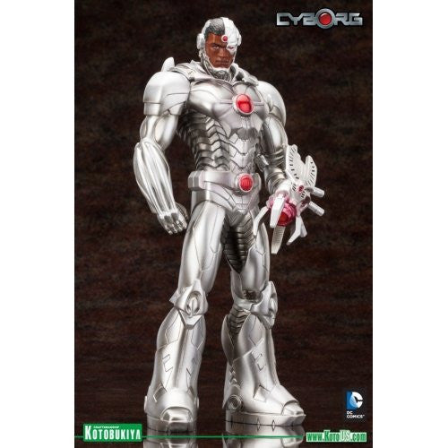 Image 3 for Justice League - Cyborg - DC Comics New 52 ARTFX+ - 1/10 (Kotobukiya)