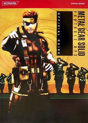 Image 1 for Metal Gear Solid Portable Ops Official Guide