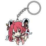 Thumbnail 1 for Date A Live II - Itsuka Kotori - Rubber Keychain - Tsumamare - Keyholder (Cospa)