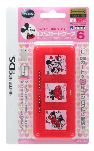 Image 1 for Disney Character DS Card Case 6 (Mickey & Minnie)