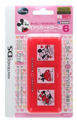 Image for Disney Character DS Card Case 6 (Mickey & Minnie)