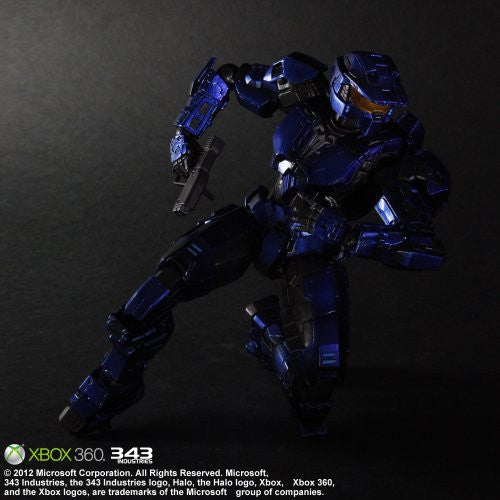 Image 4 for Halo: Combat Evolved - Spartan Mark V - Play Arts Kai - Blue (Microsoft Square Enix)