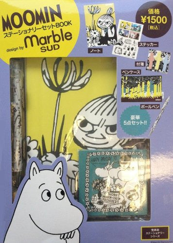 Image 1 for Moomin Stationery Book Design By Marble Sud W/Extra