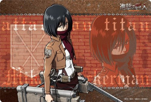 Image 1 for Shingeki no Kyojin - Mikasa Ackerman - Large Format Mousepad - Mousepad (Broccoli)