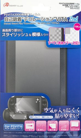 Screen Protect Decoration Film for PS Vita PCH-2000 (Type A)