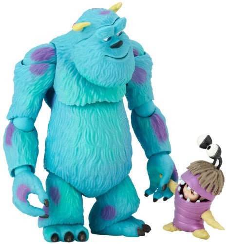 Image 1 for Monsters Inc. - Boo - James P. Sullivan - Revoltech - Revoltech Pixar Figure Collection - 6 (Kaiyodo)
