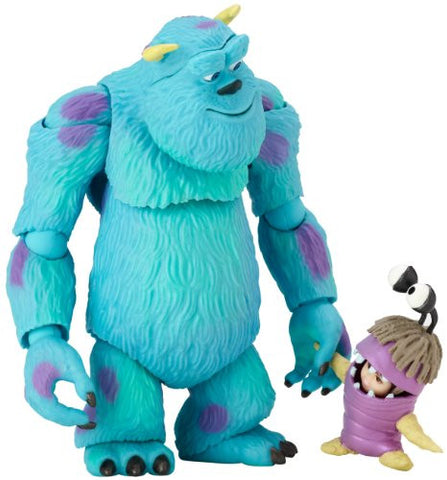 Image for Monsters Inc. - Boo - James P. Sullivan - Revoltech - Revoltech Pixar Figure Collection - 6 (Kaiyodo)