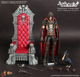 Thumbnail 7 for Space Pirate Captain Harlock - Captain Harlock - Torisan - Movie Masterpiece MMS223 - 1/6 - Throne of Arcadia (Hot Toys)