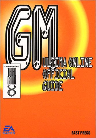 Ultima Online Official Guide Book Gm / Online