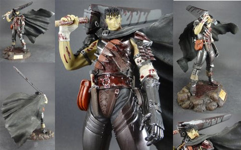 Image for Berserk - Guts - Black Swordsman PVC/ Limited Splashing Blood Version (Art of War)