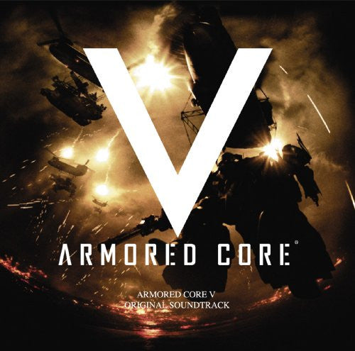 Image 1 for ARMORED CORE V ORIGINAL SOUNDTRACK