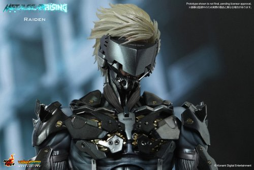 Image 5 for Metal Gear Rising: Revengeance - Raiden - VideoGame Masterpiece VGM17 - 1/6 (Hot Toys)