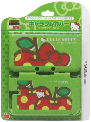 Image 1 for Chare Pure Cover for 3DS LL [Hello Kitty Green]