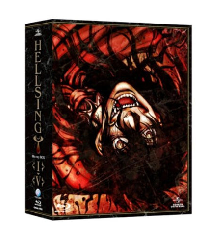 Image for Hellsing I-V Blu-ray Box [5DVD+1CD Limited Pressing]