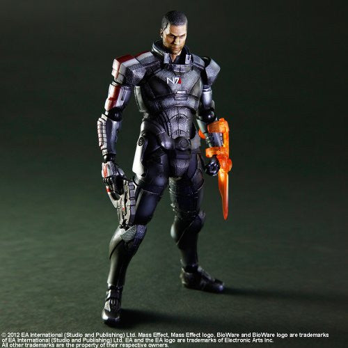 Image 7 for Mass Effect 3 - John Shepard - Play Arts Kai (Square Enix)