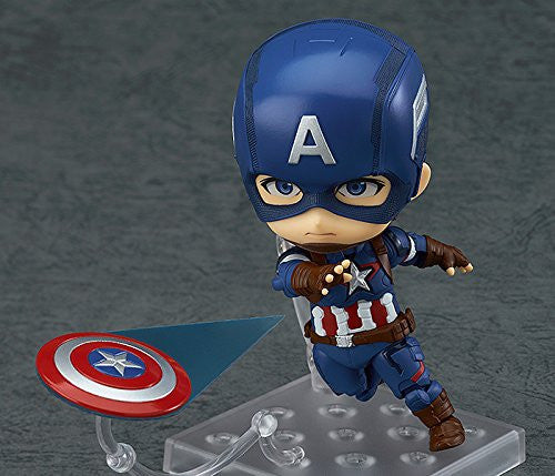 Image 3 for Avengers: Age of Ultron - Captain America - Nendoroid #618 - Hero's Edition (Good Smile Company)