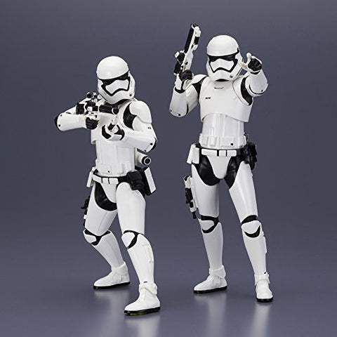 Image for Star Wars: The Force Awakens - First Order Stormtrooper - ARTFX+ - 1/10 - 2 Pack (Kotobukiya)