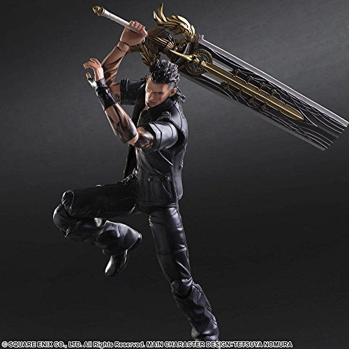 Image 4 for Final Fantasy XV - Gladiolus Amicitia - Play Arts Kai (Square Enix)