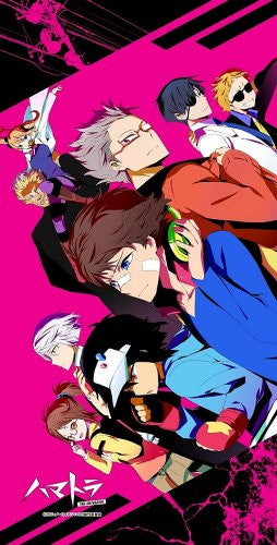 Image 1 for Hamatora - Nice - Murasaki - Hajime - Art - Koneko - Ratio - Birthday - Honey - Three - Pile Bath Towel - Towel (M's)