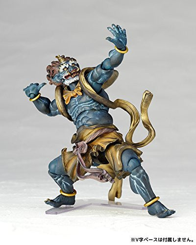 Image 4 for Original Character - KT Project KT-016 - Revoltech - Fuujin - Blue (Kaiyodo)
